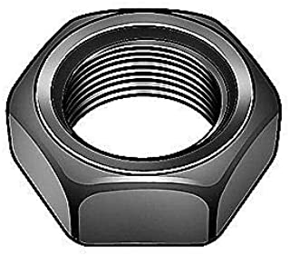"""12-24 Hex Nut PKG of 50 7//16/"""" Flats x 5//32/"""" Thick 18-8 Stainless Steel Details about  /"""