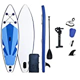 ZPPZ Tabla Hinchable Stand Up Paddle Board, Tabla de Sup Inflable, Tabla de Remo de pie con Paleta de Aluminio Kit de reparación y Bomba de Aire