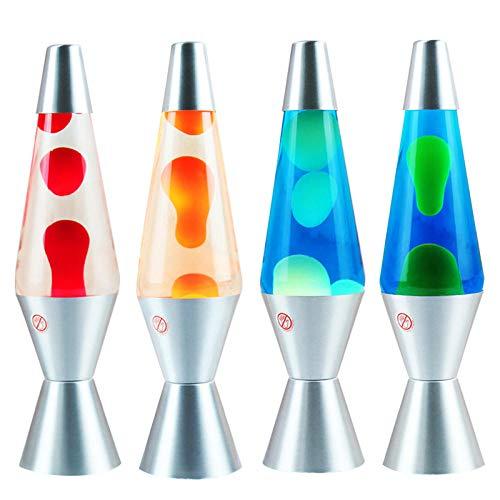 YOBENS NBM Lava Lampe Vulkan Konische Flasche Wachs Lampe Lampe Hause Kreative Lampe Nacht Licht-30W Orange
