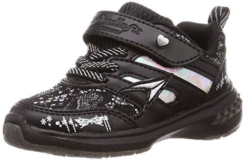 アキレス キッズシューズ ジュニア 女の子 子ども 瞬足 レモンパイ シンデレラフィット D幅 幅狭 ガールズ スニーカー 子供靴 15-23cm 女児 きらきら かわいい SYUNSOKU 小学生 運動靴 LEJ6170