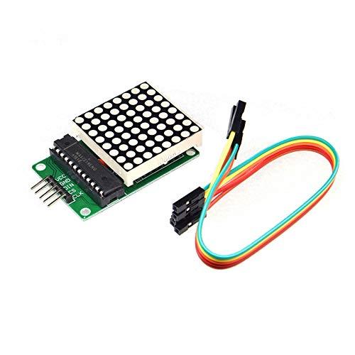 AptoFun 8X8 Dot Matrix MAX7219 Modulo Mcu Kit controllo display LED per Arduino / Raspberry Pi