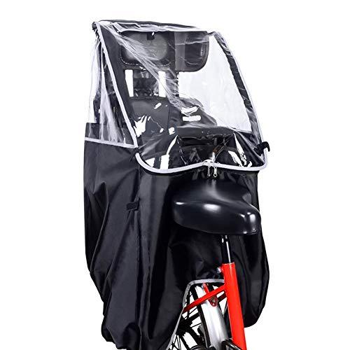 iBoosila Kinderfahrradsitz Zubehör Regenschutz Fahrrad Regenschutz Fahrrad Rücksitz Regenschutz Kinder Transparenter Regen Poncho Tragbarer Regenschutz