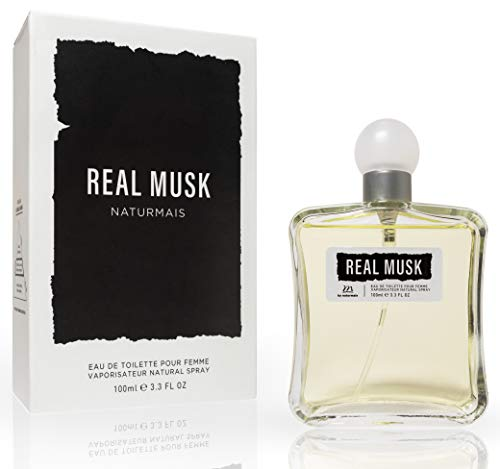 Real Musk Eau De Parfum Intensiv 100 ml. Kompatibel mit Narciso Rodrig. For Her Pure Musc, Parfüm Damen