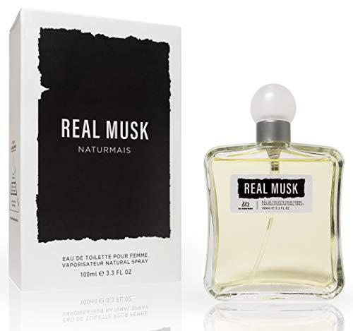 Real Musk Eau De Parfum Intense 100 ml. Compatible con Narciso Rodrig. Pure Musc, Perfume Equivalente Mujer