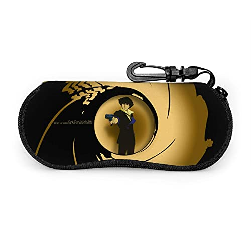 - Spike Like James Bond Anime Soft Glasses Case Cartoon Eyegs Case Funda protectora para gafas