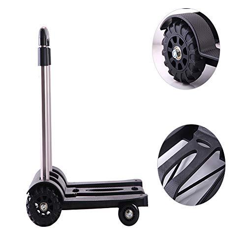 Diablo plegable, sistema de transporte Escalera Aluminio
