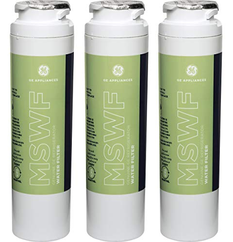 GE MSWF Refrigerator Water Filter, 3 Pack