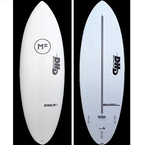 Mick Fanning DHD Black Diamond Tabla de Surf, 6' 6