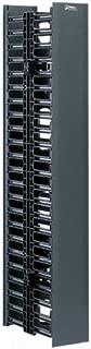 Panduit WMPV45E Vertical Cable Management, Black