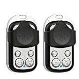 2 Pack - 433.92MHz Copy Remote Controller Metal Clone Remotes Auto Copy Duplicator for Gadgets Cars Motorcycles Home Garage Door