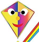 Mint's Colorful Life Cometa Joker para niños y adultos, fácil de volar 83 x 76 cm