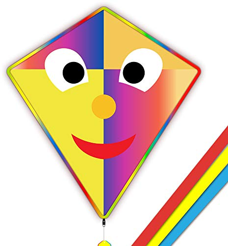 Mint\'s Colorful Life Joker-Drachen-Kinder Einleiner Flugdrachen 77x84cm