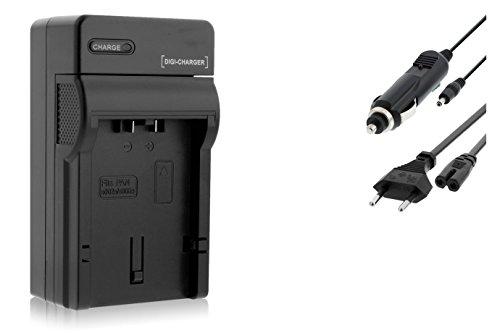 Ladegerät kompatibel mit Panasonic CGA-S006 / Lumix DMC-FZ7 FZ8 FZ18 FZ28 FZ30 FZ38 FZ50. / Leica V-LUX 1