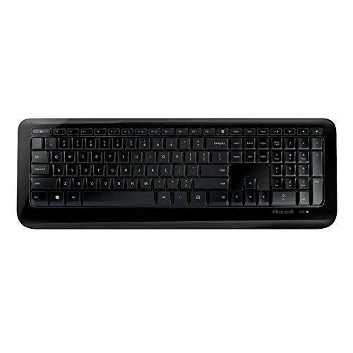 Wireless Desktop 850 (Set mit Maus und Tastatur, deutsches QWERTZ Tastaturlayout, schwarz, kabellos)