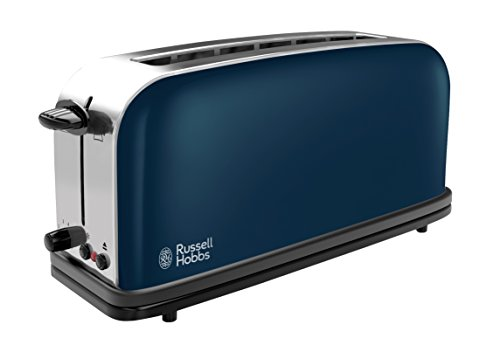 Russell Hobbs 21394-56 Colours Royal Blue - Tostadora, ranura larga