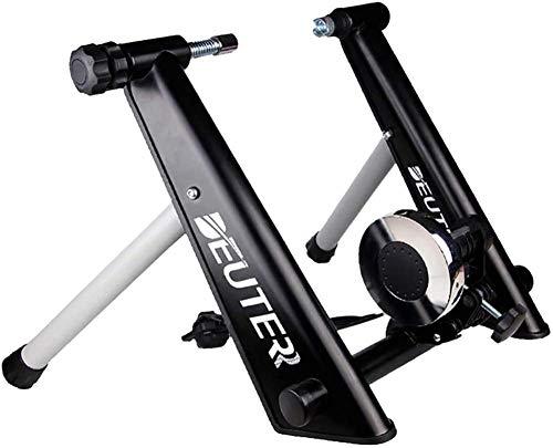 SZYM Rodillo Bicicleta de Interior, Plataforma de Ciclismo de montaña y Carretera, Dispositivo de Entrenamiento magnetorresistivo controlado por Cable, Accesorios para Equipos de Ejercicios