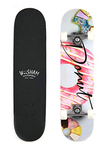 X Free Skateboards 31 Inches Complete Skateboards for Beginners (28)