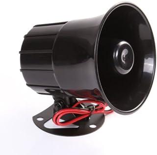 Wen&Cheng 12V Sirene Lufthorn Lautsprecher Redner Siren für Auto Van LKW PA System 15W laute elektrische Alarmanlage