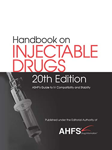 Handbook on Injectable Drugs, 20th edition