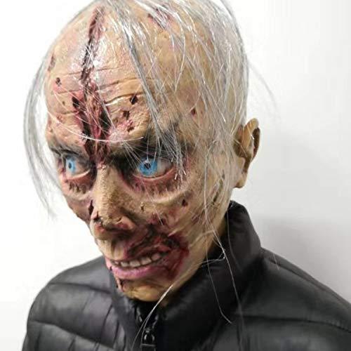 Máscara Cabeza Completa Cosplay Adulto Horror Miedo Disfraces Disfraces De Halloween Máscara Disfraz Máscara