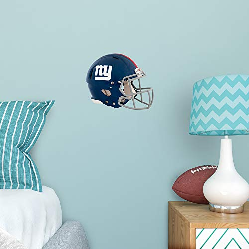 FATHEAD NFL New York Giants - Helmet Teammate- Officially Licensed Removable Wall Decal, Multicolor, Large - 89-00941