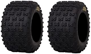 Pair of ITP Holeshot MXR6 ATV Tires Rear 18x10-9 (2)