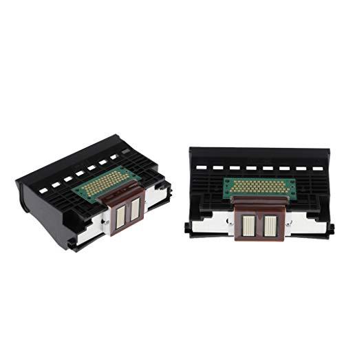 B Baosity 2pcs Tête d'impression Têtes d'imprimante Remplacement de la Tête d'impression Accessoires d'imprimante pour Canon IP8500 I9950 PRO9000