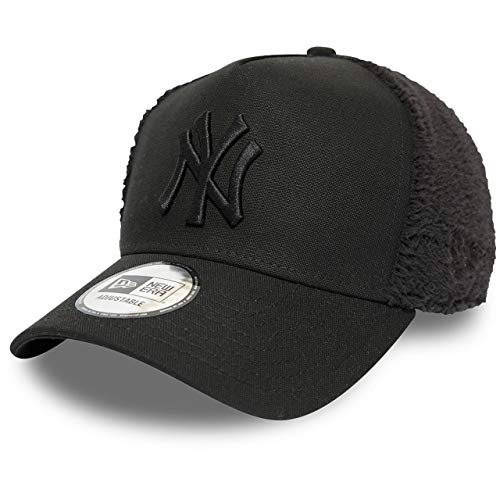 New Era Gorra Trucker MLB Sherpa York Yankees Negro