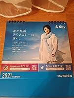 1/29迄出品削除 藤原竜也 Sky 卓上カレンダー2021