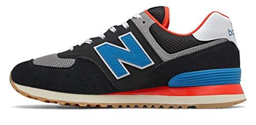 New Balance Herren 574v2 Sneaker, Schwarz (Black Sov), 41.5 EU