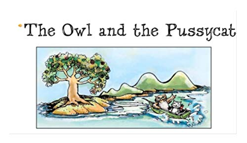 The Owl and the Pussycat: Recommended for classic children's picture books (English Edition)