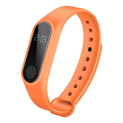 RQMQRL Deporte Hombres Impermeable Ip67 M2 Reloj Pulsera De Fitness Monitor De Ritmo Cardíaco Presión Arterial Podómetro Bluetooth Pulsera Inteligente