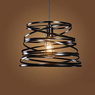 Retro Iron Cages Iron Industry Creative Hanging Lamps