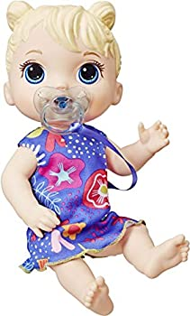 Baby Alive Baby Lil Sounds  Interactive Baby Doll for Girls & Boys Ages 3 & Up Makes 10 Sound Effects Including Giggles Cries Baby Doll with Pacifier