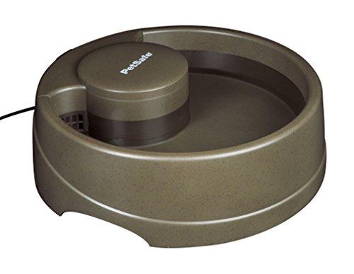 PetSafe Drinkwell Trinkbrunnen Strömung M, 2,4 Liter, BPA frei, organischer Filter, leise, Wasserbrunnen für mittelgroße Hunde