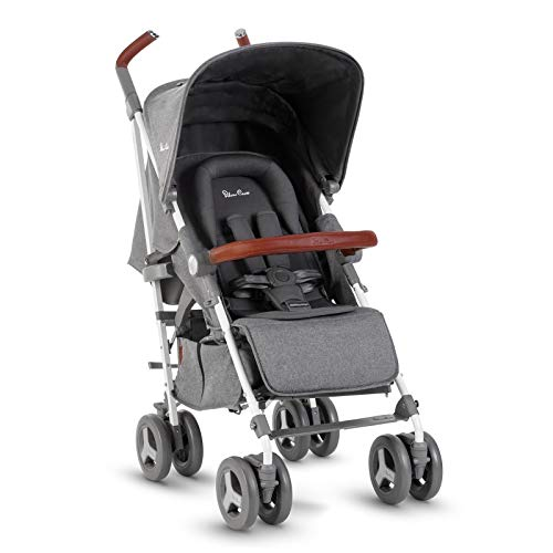Silver Cross Reflex Stroller, Compact and Lightweight Fully Reclining Baby to Toddler Premium Pushchair – Quartz