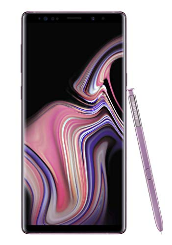 Samsung Galaxy Note 9 Factory Unlocked Phone with 6.4' Screen and 128GB (U.S. Warranty), Lavender...