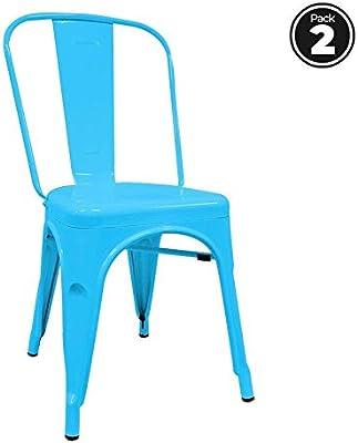 Regalos Miguel - Packs Sillas Comedor - Pack 2 Sillas Torix Azules
