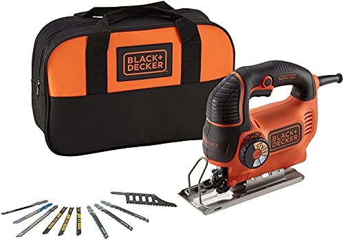 Black + Decker ks901sek5a-qs sierra caladora pendular, 620W