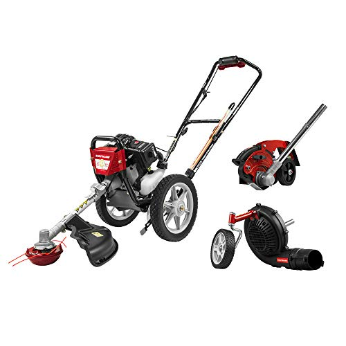 For Sale! Southland SWSTM4317EB Wheeled String Trimmer, Edger and Blower Combo KIT, Red