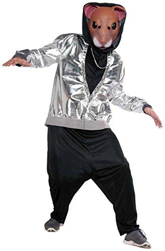 Hip Hop Hamster Costume Fancy Dress