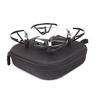 MachinYester Carrying Case for DJI Tello Drone Safety Carrying Bag Double Zipper Shock-proof Storage Bag Drone Accessories for Tello black