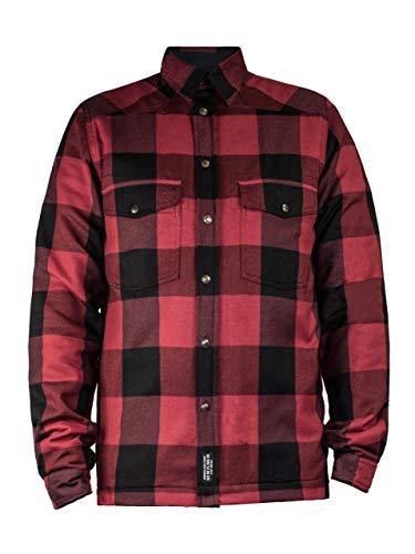 Preisvergleich Produktbild John Doe Motoshirt Rot XTM / Motorradjacke mit Kevlar / XTM Made with DuPont Kevlar / Einsetzbare Protektoren / Atmungsaktiv / Motorrad Motoshirt