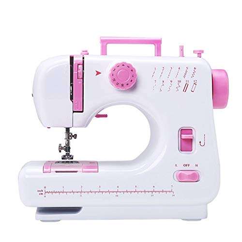 Amazing Deal Quisilife Sewing Machines for Beginners Portable Sewing Machine 2 Speed 12 Stitches Dou...