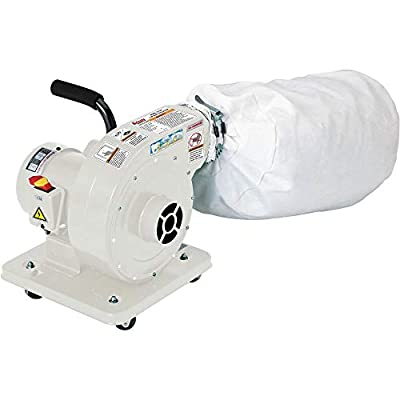 Grizzly Industrial G1163P - 1 HP Light Duty Dust Collector - Polar Bear Series from Grizzly