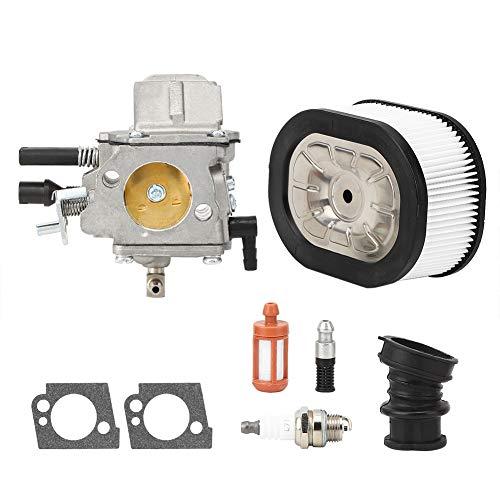 HBJP Kit de accesorios de carburador de aluminio de fundición a presión para herramientas de jardín para Stihl MS660