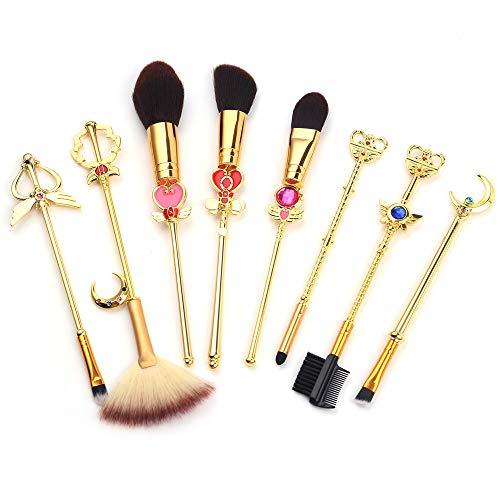 Brochas Maquillaje Kawaii marca SailorMoon