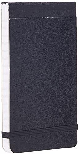 Silvine Elasticated Pocket Notebook with 80 Pages and Durable Stiff Board...