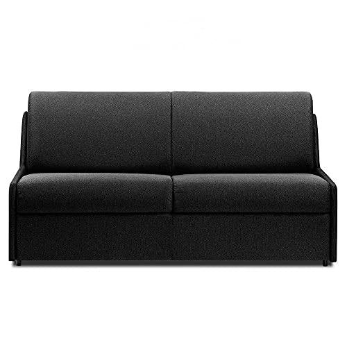 Canapé Convertible rapido COMPACTO Matelas 140cm Comfort BULTEX® Tissu Neo Gris Anthracite