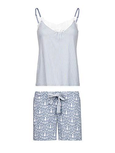 Vive Maria Meets Alice in Wonderland My Blue W. Short Pyjama Blue Allover, Größe:M